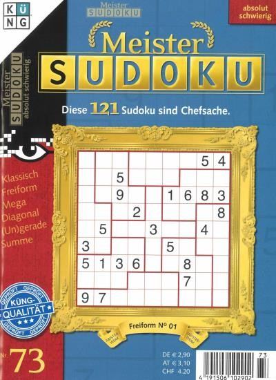 MEISTER SUDOKU 73/2020