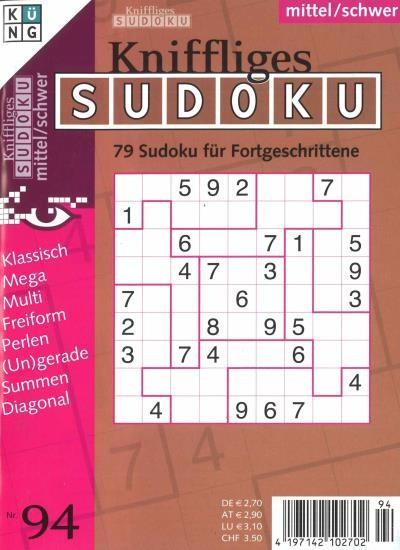 KNIFFLIGES SUDOKU 94/2020