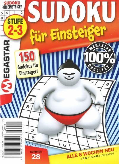 150 SUDOKU FÜR EINSTEIGER 28/2020