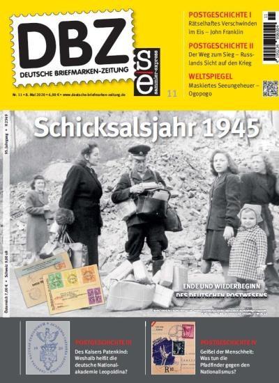 DBZ DEUTSCHE BRIEFMARKEN-ZEITUNG 11/2020