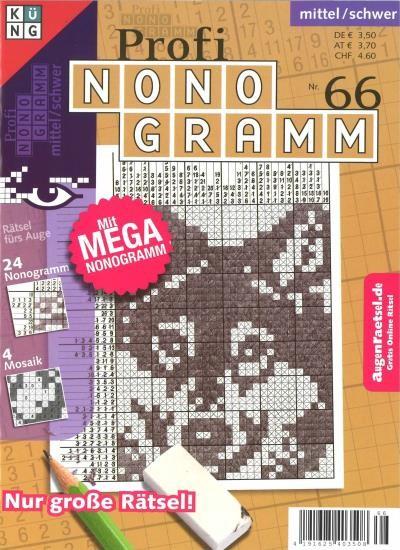 PROFI NONOGRAMM 66/2020