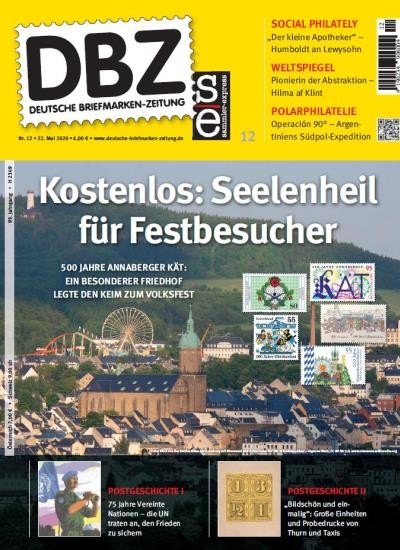 DBZ DEUTSCHE BRIEFMARKEN-ZEITUNG 12/2020