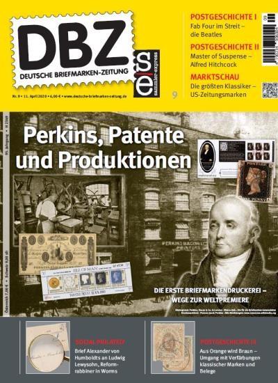 DBZ DEUTSCHE BRIEFMARKEN-ZEITUNG 9/2020