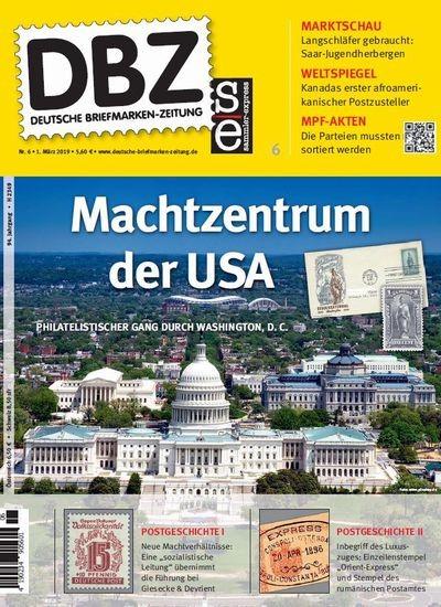 DBZ DEUTSCHE BRIEFMARKEN-ZEITUNG 6/2019