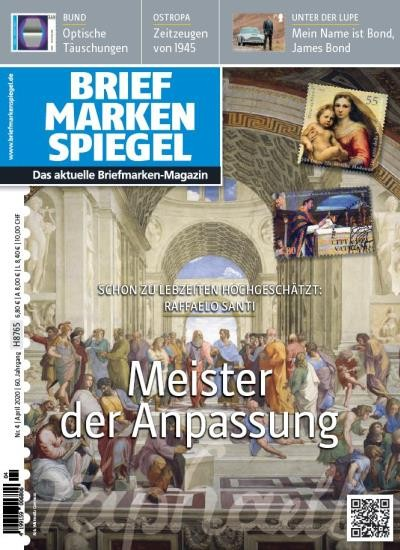 BRIEFMARKEN SPIEGEL 4/2020