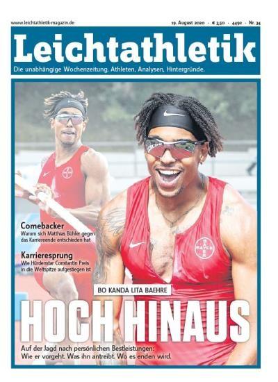 LEICHTATHLETIK 34/2020
