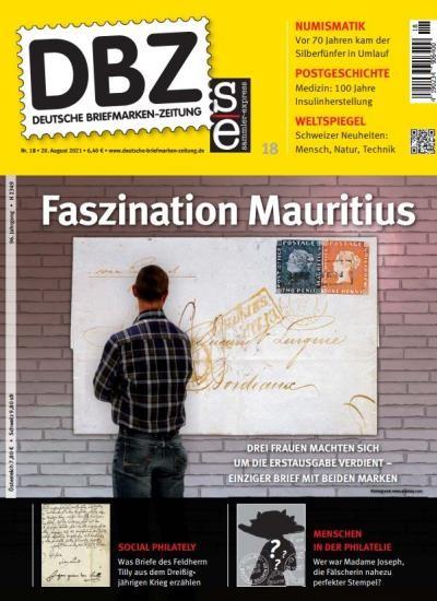 DBZ DEUTSCHE BRIEFMARKEN-ZEITUNG 18/2021