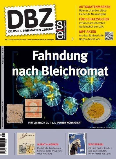 DBZ DEUTSCHE BRIEFMARKEN-ZEITUNG 3/2019