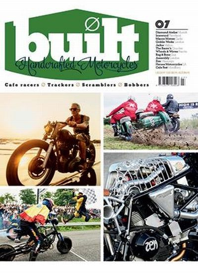 BUILT - HANDCRAFTED MOTORCYCLES / GB Abo