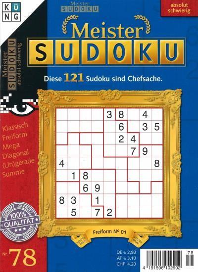 MEISTER SUDOKU 78/2021