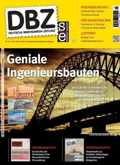 DBZ DEUTSCHE BRIEFMARKEN-ZEITUNG 13/2020