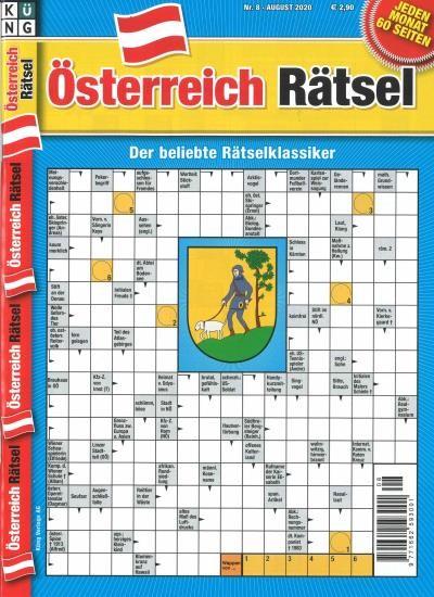 ÖSTERREICH RÄTSEL 8/2020