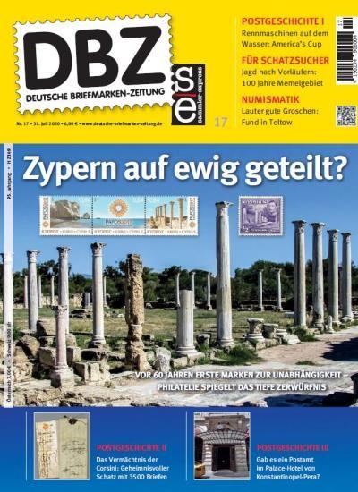 DBZ DEUTSCHE BRIEFMARKEN-ZEITUNG 17/2020