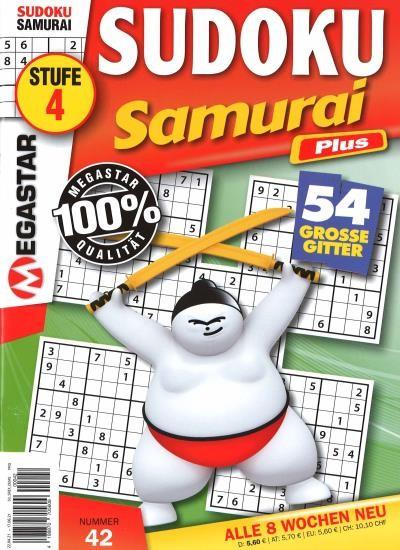 SUDOKU SAMURAI PLUS 42/2021
