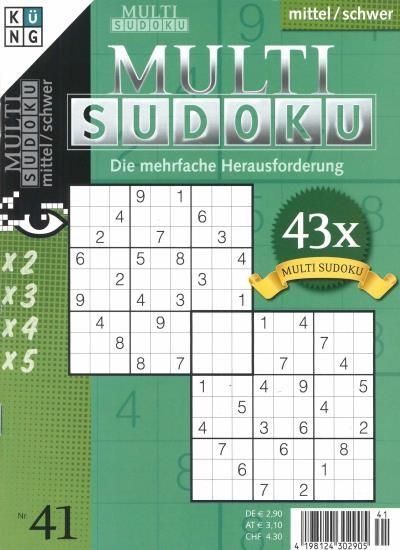 MULTI SUDOKU 41/2020
