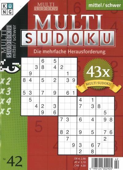 MULTI SUDOKU 42/2020