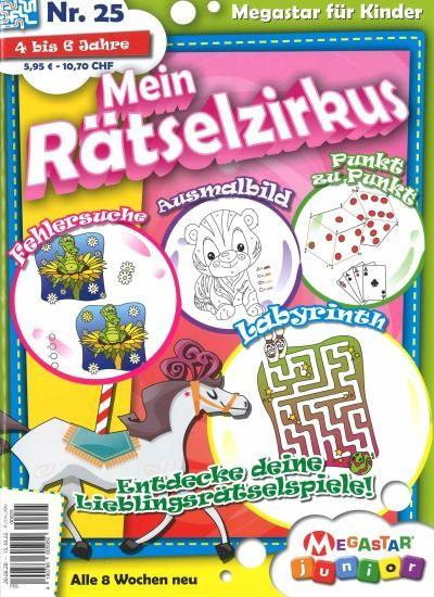 MEIN RÄTSELZIRKUS 25/2020