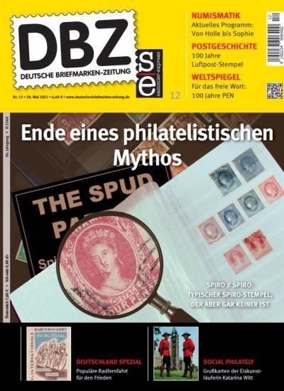 DBZ DEUTSCHE BRIEFMARKEN-ZEITUNG 12/2021
