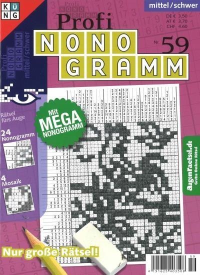 PROFI NONOGRAMM 59/2019