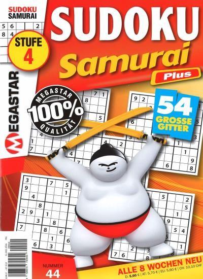 SUDOKU SAMURAI PLUS 44/2021