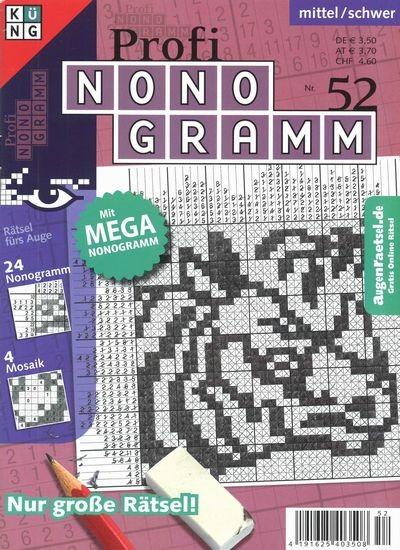 PROFI NONOGRAMM 52/2018