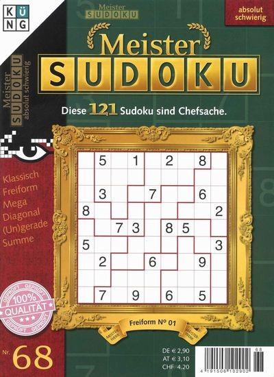 MEISTER SUDOKU 68/2019