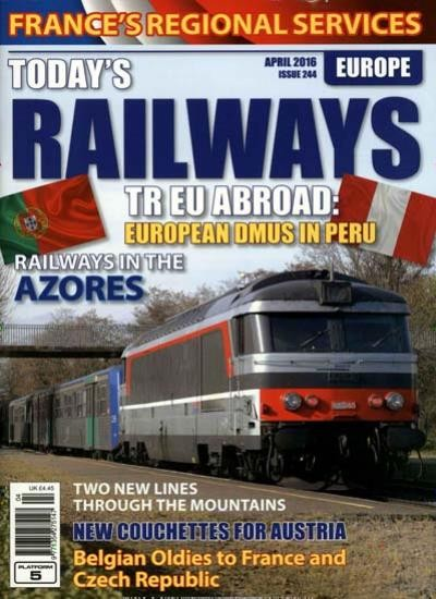 TODAY`S RAILWAYS EUROPE / GB Abo