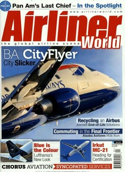 AIRLINER WORLD / GB Abo