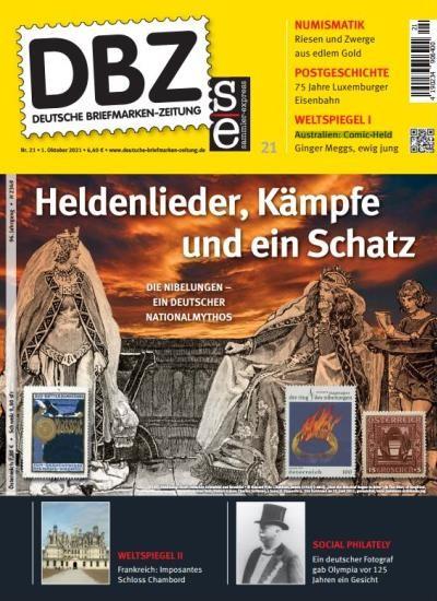 DBZ DEUTSCHE BRIEFMARKEN-ZEITUNG 21/2021