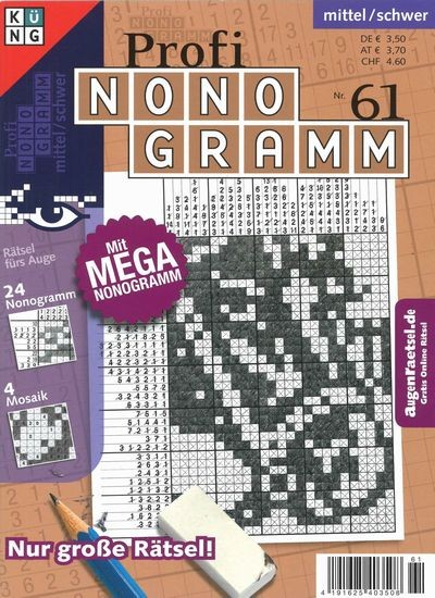 PROFI NONOGRAMM 61/2019