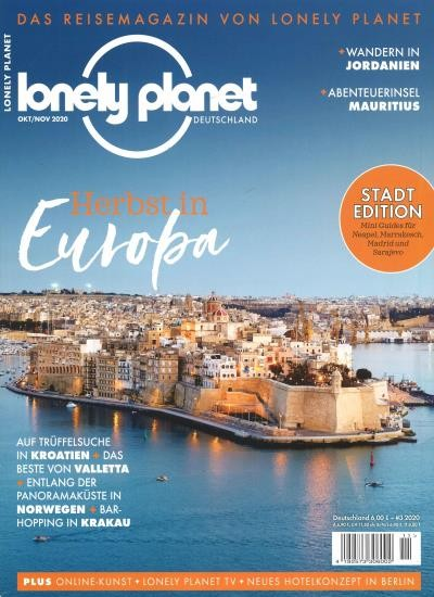 LONELY PLANET MAGAZIN 11/2020