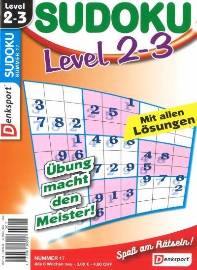 SUDOKU LEVEL 2-3 Abo