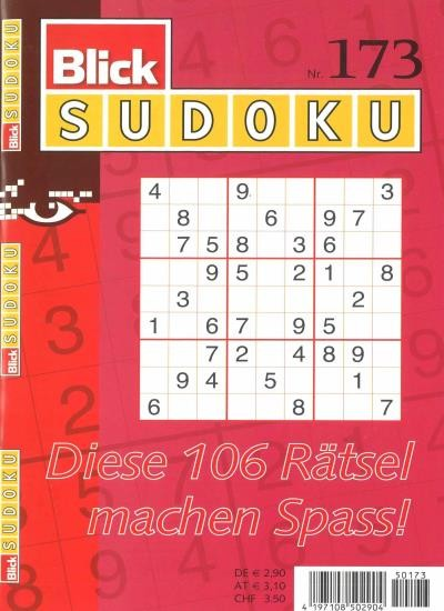 BLICK SUDOKU 173/2020