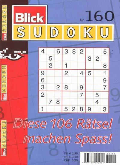 BLICK SUDOKU 160/2019