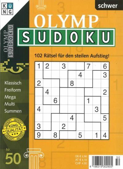 OLYMP SUDOKU 50/2020