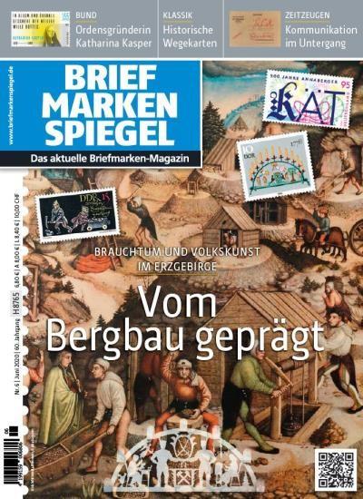 BRIEFMARKEN SPIEGEL 6/2020