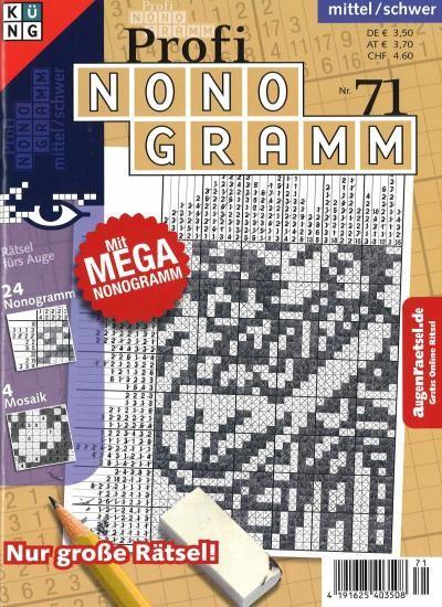 PROFI NONOGRAMM 71/2021