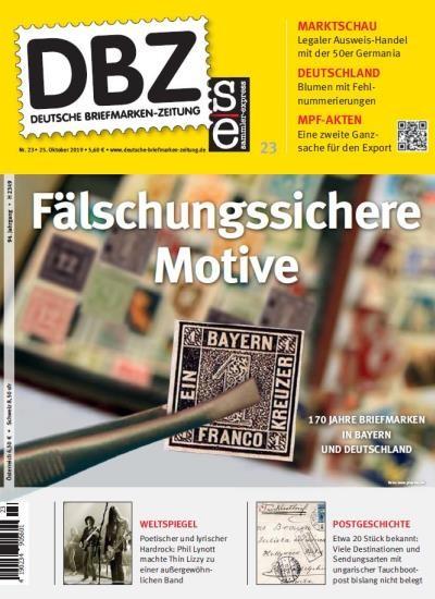 DBZ DEUTSCHE BRIEFMARKEN-ZEITUNG 23/2019