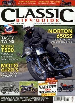 CLASSIC BIKE GUIDE / GB Abo