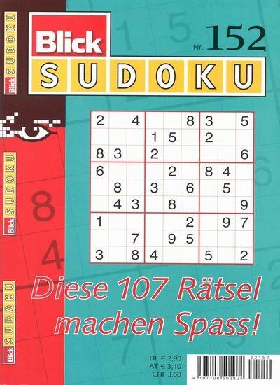 BLICK SUDOKU 152/2018