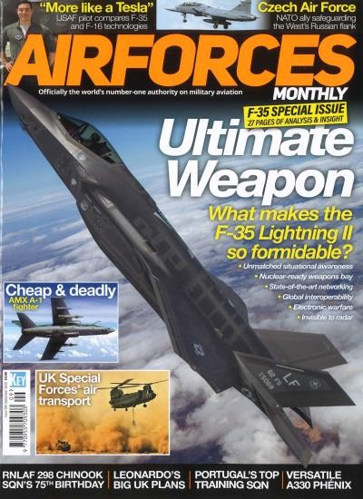 AIR FORCES MONTHLY / GB 8/2020