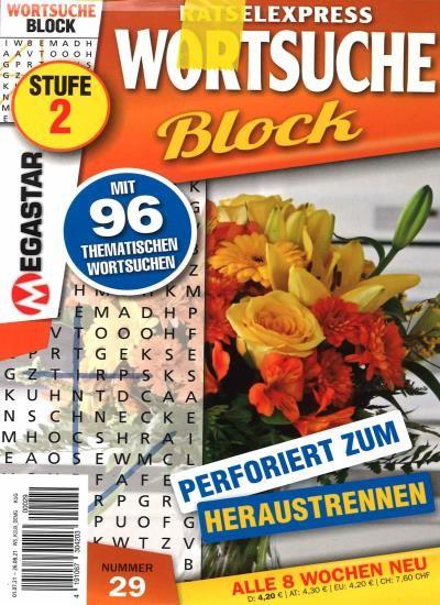 WORTSUCHE BLOCK 29/2021