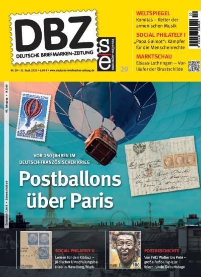 DBZ DEUTSCHE BRIEFMARKEN-ZEITUNG 20/2020