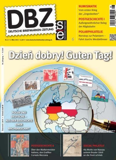 DBZ DEUTSCHE BRIEFMARKEN-ZEITUNG 6/2021