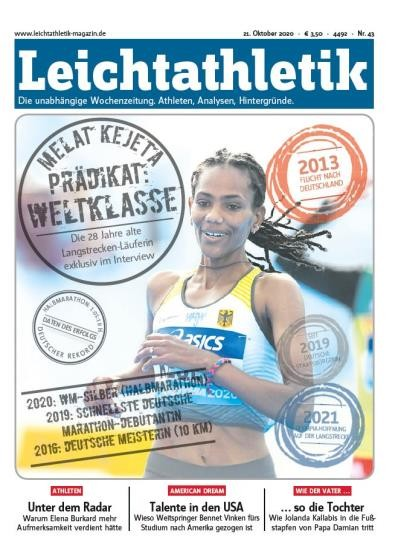 LEICHTATHLETIK 43/2020