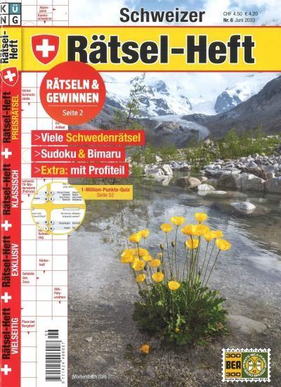 SCHWEIZER RÄTSEL-HEFT 6/2020