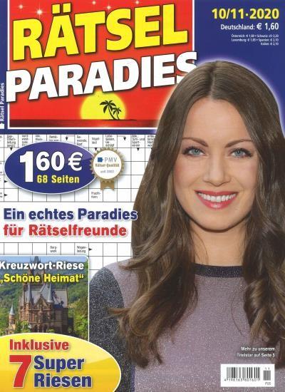 RÄTSEL PARADIES 11/2020