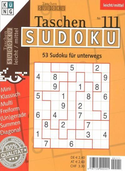 TASCHEN-SUDOKU 111/2020