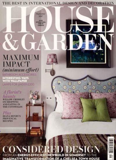 HOUSE & GARDEN / GB Abo