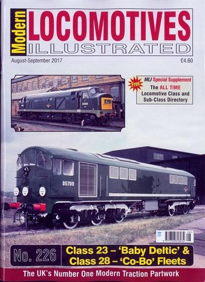 MODERN LOCOMOTIVES ILLUSTRATED / GB Abo